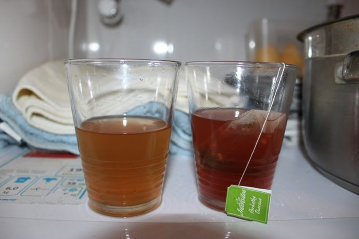 Завариваем чай в стиральной машине. Единственный вопрос: зачем?!