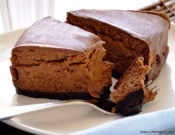 как приготовить шоколадный чизкейк