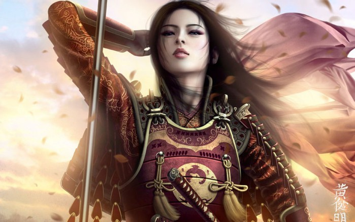 Beautiful-warrior-girl-wallpaper (700x437, 77Kb)