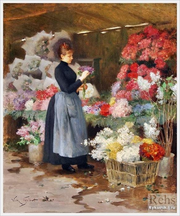 5229398_VictorGabriel_Gilbert_French_18471933_The_flower_market (583x700, 182Kb)