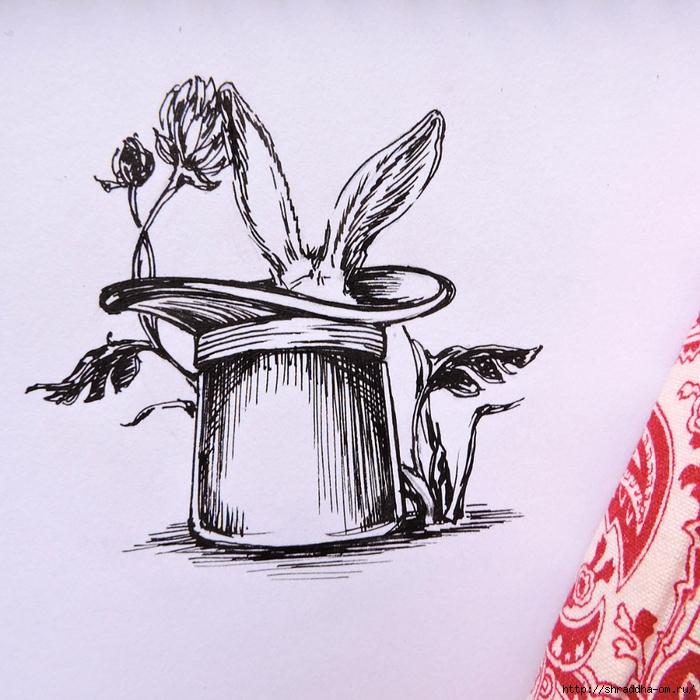 Заяц и Волшебная Шляпа от Shraddha (2) (700x700, 346Kb)