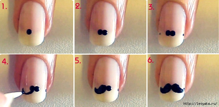 маникюр в домашних условиях на короткие ногти для начинающих пошагово