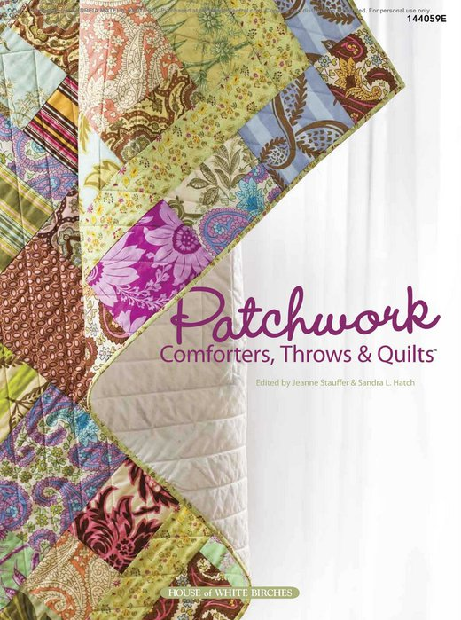 Patchwork Comforters Throws & Quilts (520x700, 104Kb)