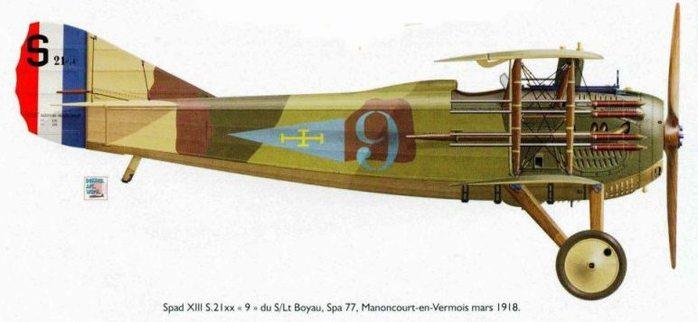Буайо СПАД-13 справа (700x322, 35Kb)