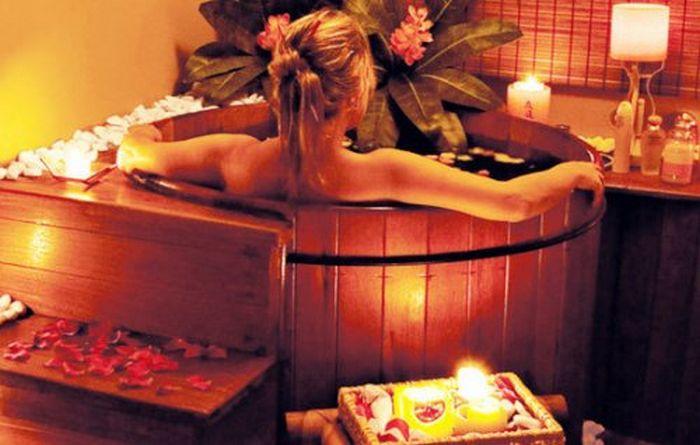 Офуро - японская баня