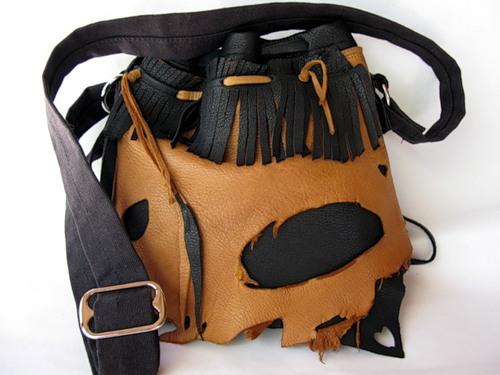как своми руками сделать мужскую дорожную сумку из кожи