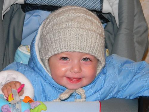 Вязание для малышей-шапки 3