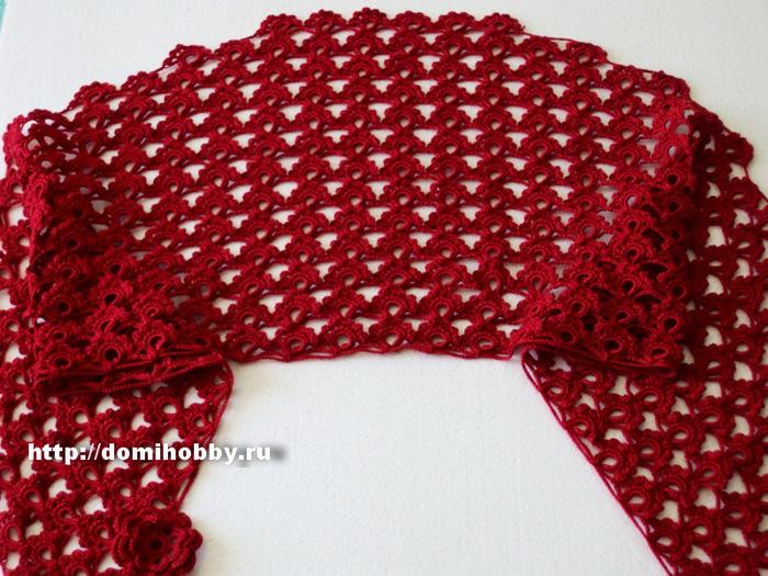 кружевной-шарф-крючком