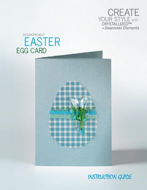 Create your style with swarovski Design project Easter Egg card (300x388, 67Kb)