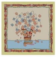 sonja. подушка. подушки.  10219.rar. цветы.  Описание: Схема для вышивки крестом - Цветы в вазе в формате xsd.