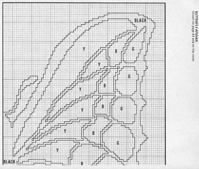 【引用】外网~钩针毛毯 - 秋林红叶 -