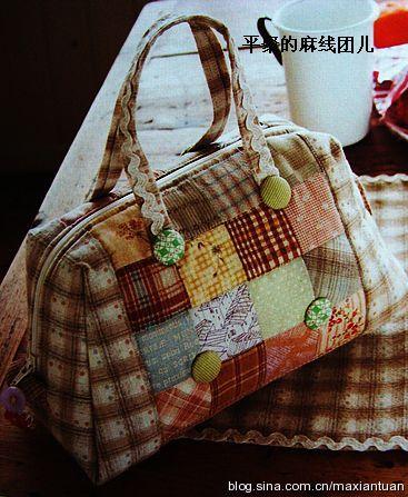 Выкройки сумок из лоскутков своими руками