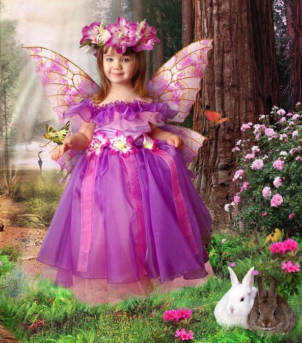 Платье феи своими руками фото