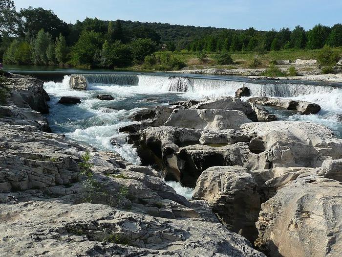 Les cascades du Sautadet - La Roque sur Ceze 74424