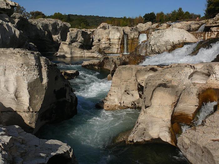 Les cascades du Sautadet - La Roque sur Ceze 81352