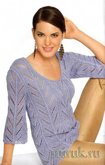 nezhnyj-sirenevyj-pulover (350x547, 55Kb)