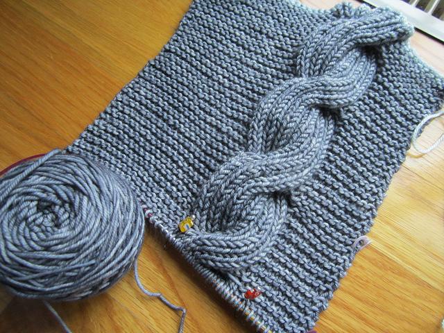 вязание шарф хомут снуд выкройка.