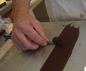 Завитки из шоколада как сделать 458