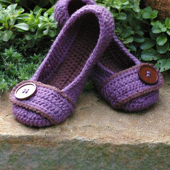 Комментарий: Тапочки крючком схема - Схемы вязания.