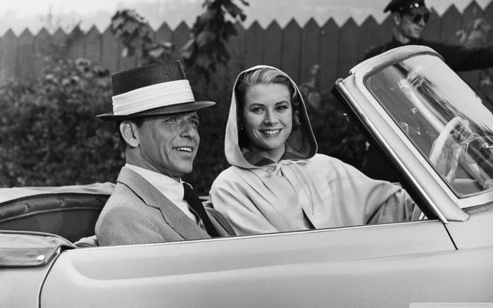 Frank Sinatra and Grace Kelly (700x437, 42Kb)