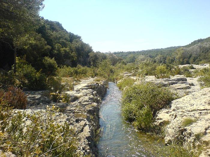 Les cascades du Sautadet - La Roque sur Ceze 58705