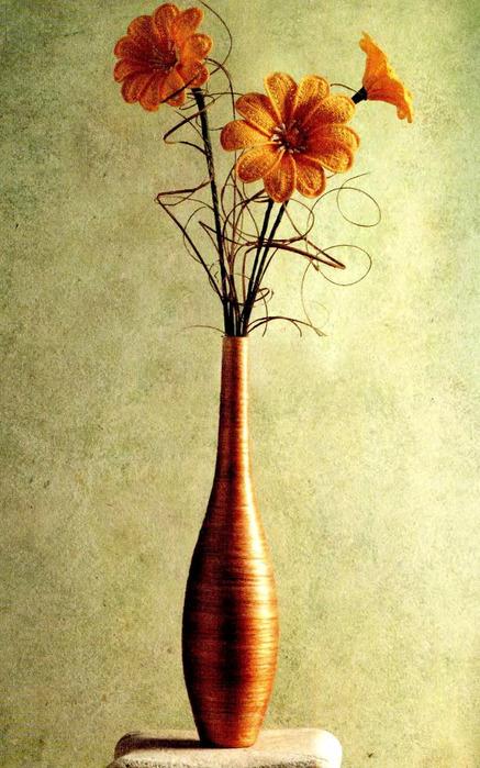 Рекомендуем перед началом работы по вязанию цветка посмотреть нашу статью с основными принципами изготовления вязаных...