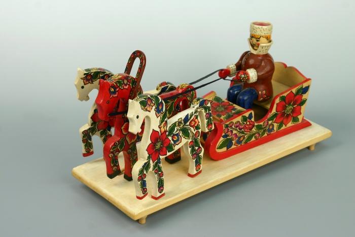 Современная народная игрушка в Музее
