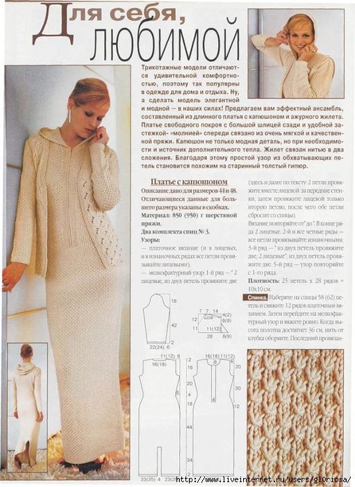 748 pxВысота. красное вязаное платье Схемы и узорыШирина.