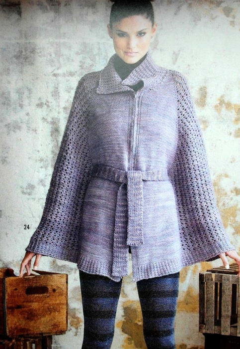 4090750_Lace_Belted_Cape (483x700, 286Kb)