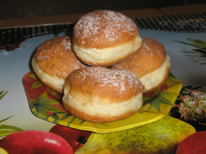 рецепт на пончики на кефире рецепт