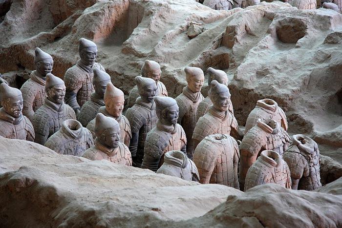Терракотовая армия первого императора Китая в Сиане 71870