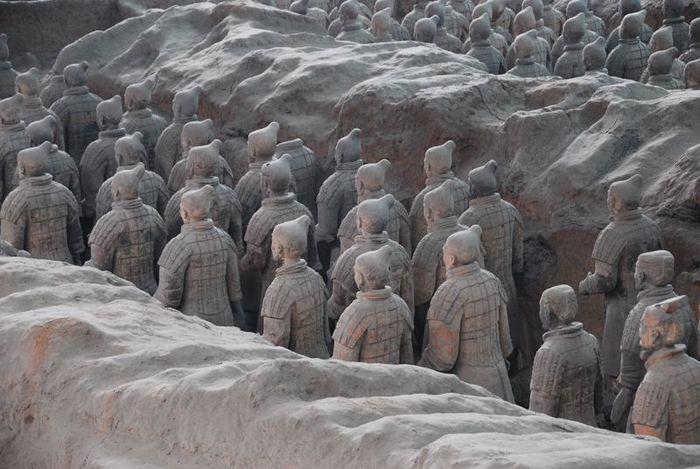 Терракотовая армия первого императора Китая в Сиане 94108