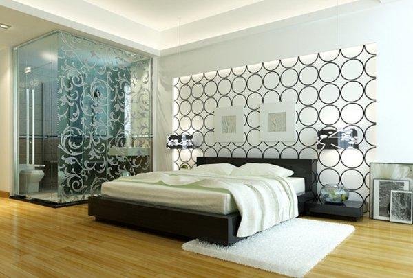 Дизайн спальни в стиле хай-тек - основные принципы создания.