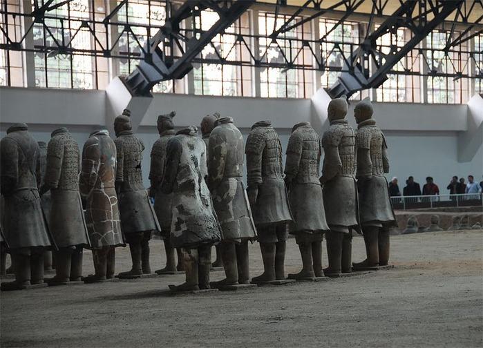 Терракотовая армия первого императора Китая в Сиане 45530