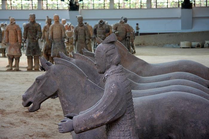 Терракотовая армия первого императора Китая в Сиане 64172