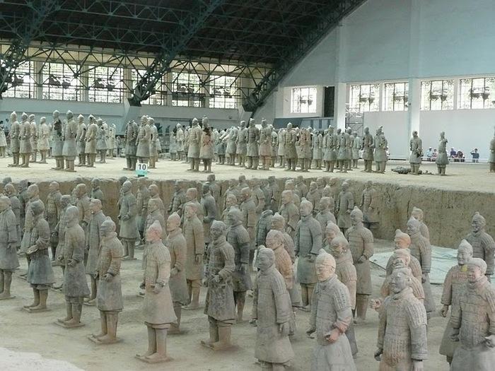 Терракотовая армия первого императора Китая в Сиане 58928