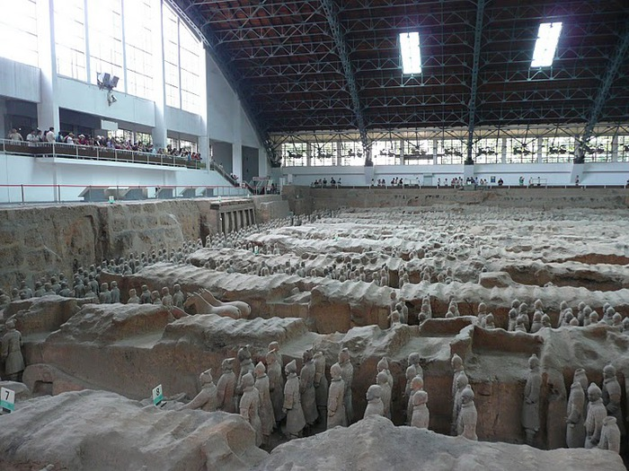 Терракотовая армия первого императора Китая в Сиане 36434
