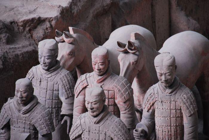 Терракотовая армия первого императора Китая в Сиане 89604