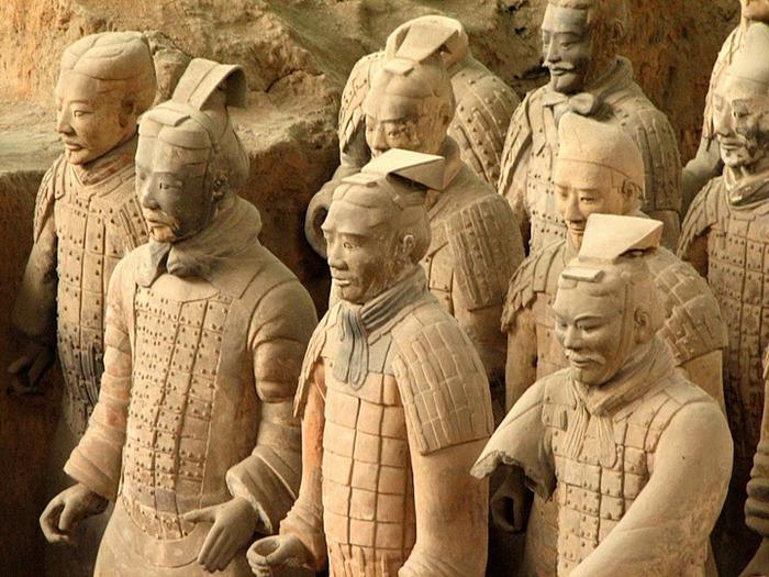 Терракотовая армия первого императора Китая в Сиане 88868