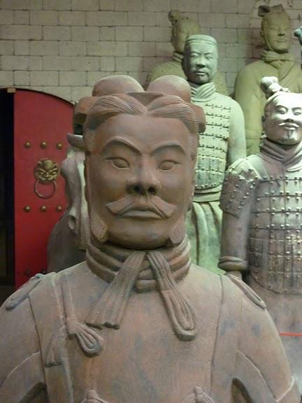 Терракотовая армия первого императора Китая в Сиане 10550