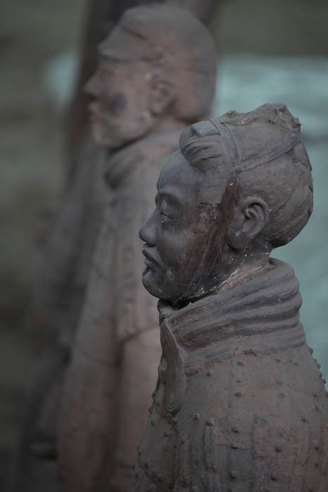 Терракотовая армия первого императора Китая в Сиане 85299