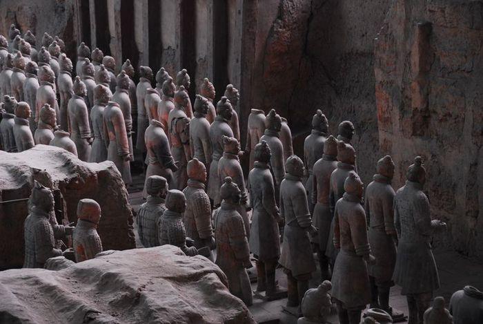 Терракотовая армия первого императора Китая в Сиане 66268