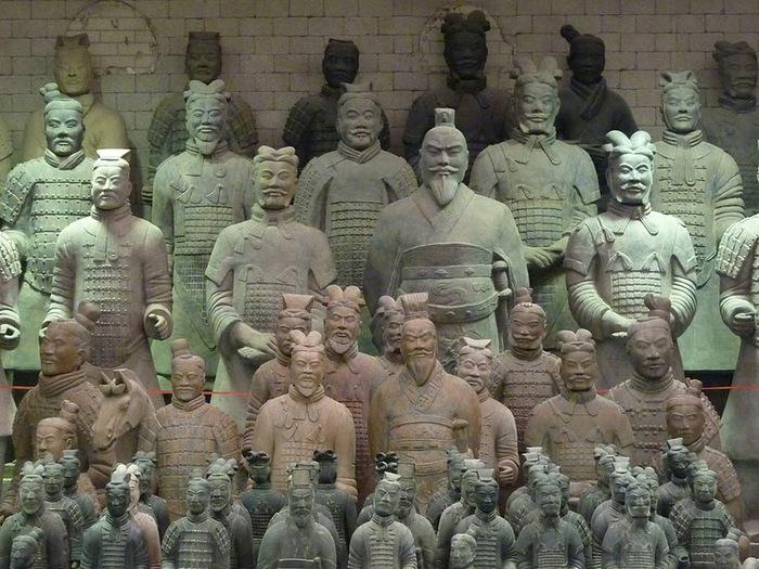 Терракотовая армия первого императора Китая в Сиане 38308