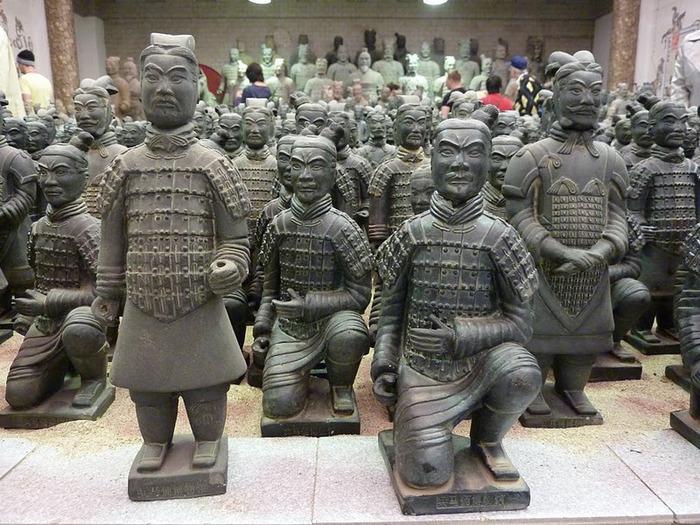 Терракотовая армия первого императора Китая в Сиане 54742
