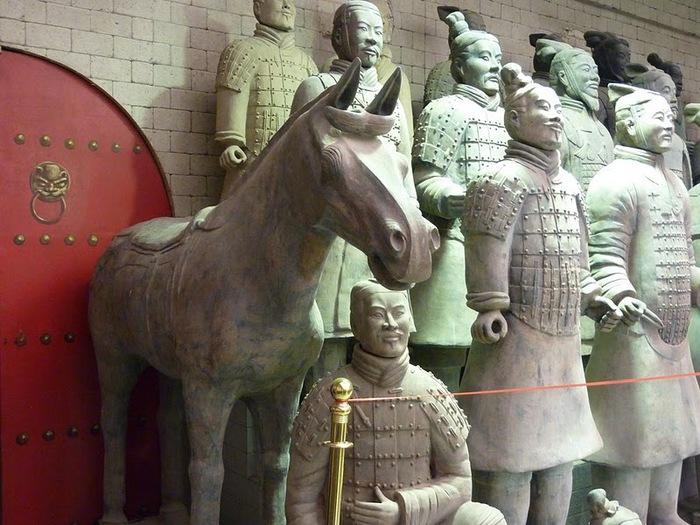 Терракотовая армия первого императора Китая в Сиане 30569