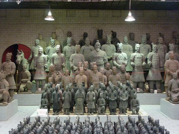 Терракотовая армия первого императора Китая в Сиане 34704