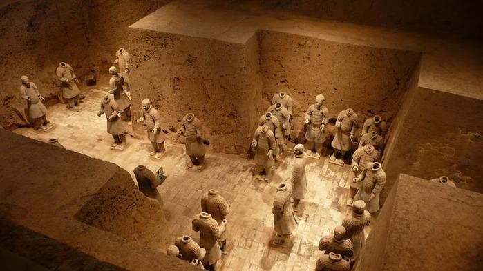 Терракотовая армия первого императора Китая в Сиане 51416