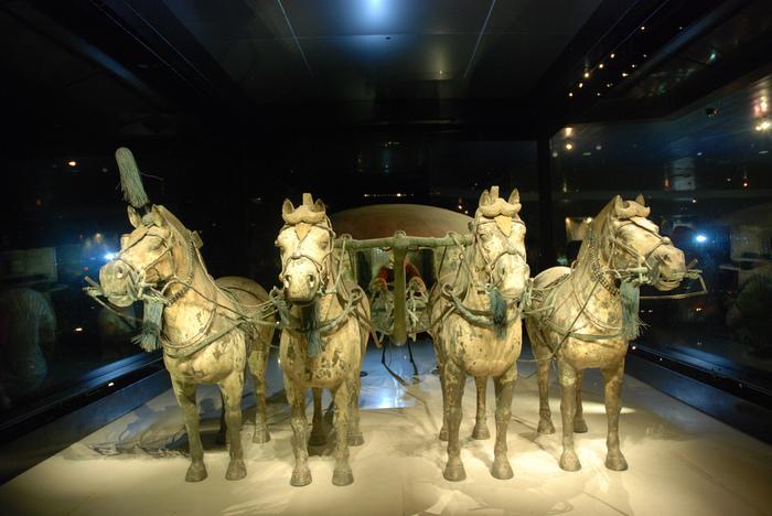 Терракотовая армия первого императора Китая в Сиане 81823