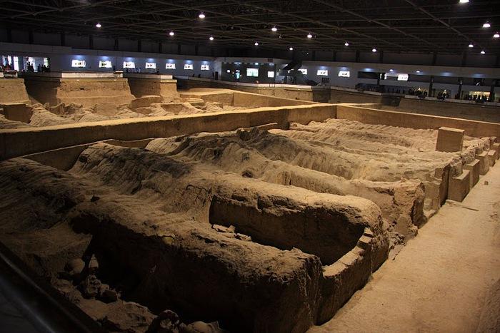 Терракотовая армия первого императора Китая в Сиане 35528