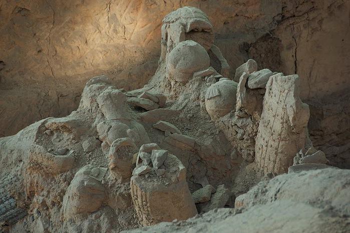 Терракотовая армия первого императора Китая в Сиане 63513